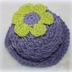 Crochet cotton flower sunha..
