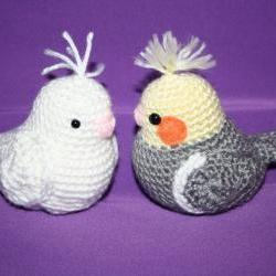 Crochet Cockatiel