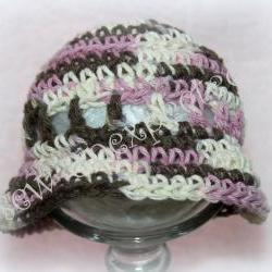 Crotchet cotton baby sunhat